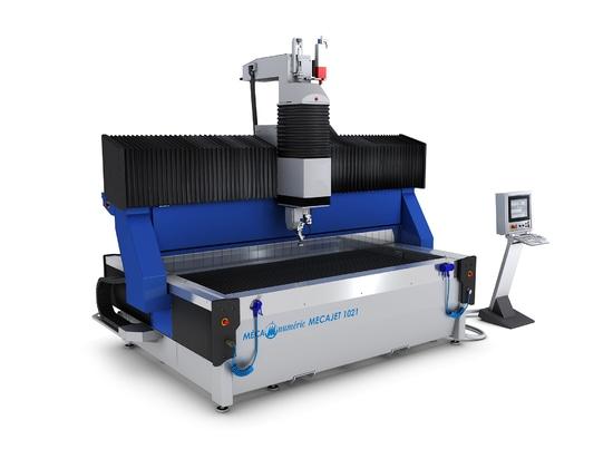 Nueva gama de máquinas de corte por chorro Muy Alta Presión MECAJET 5 ejes 6200 bar