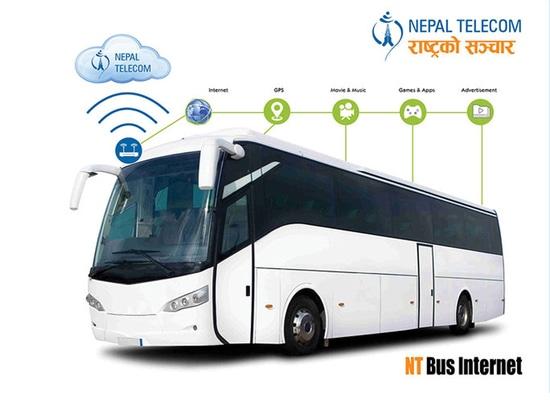 Socios de Hongdian con Nepal Telecome para establecer el sistema del Wi-Fi del bus turístico de Nepal