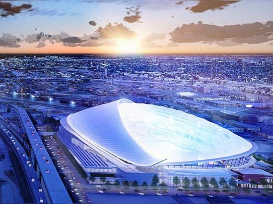 Los Tampa Bay Rays revelan representaciones del estadio abovedado