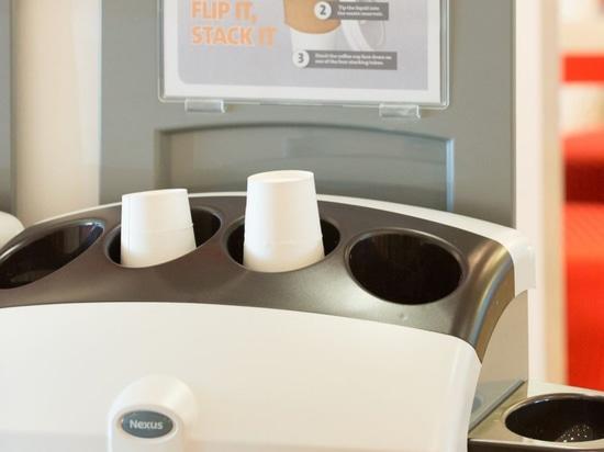 Veolia para reciclar las tazas de café del 120m en el año que viene BRITÁNICO