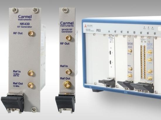 Sintetizadores de frecuencia Generan de 250 MHz a 32 GHz