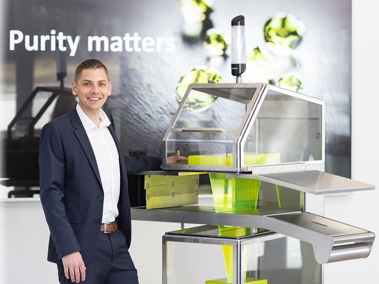 En IFFA 2019, Uli Hurzlmeier, jefe de producto de rayos X de Sesotec, presentará un estudio de diseño sobre el escáner de rayos X RAYCON D+ para fomentar el debate sobre las características y funci...