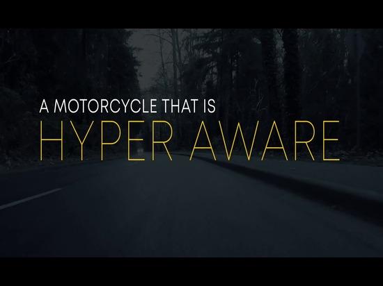 Un copiloto electrónico hace del hiperdeportivo Damon la motocicleta del futuro