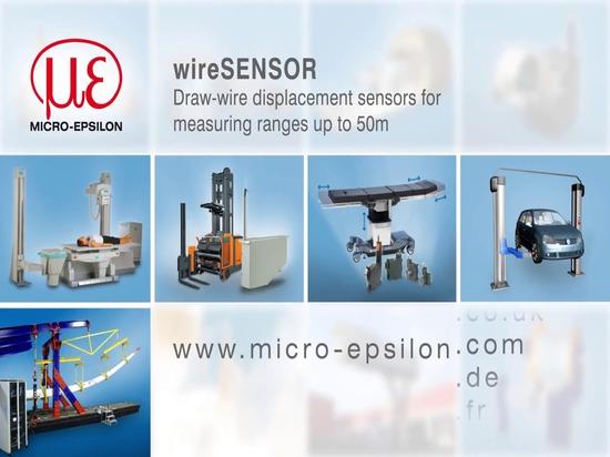 sensores de la dislocación del Drenaje-alambre
