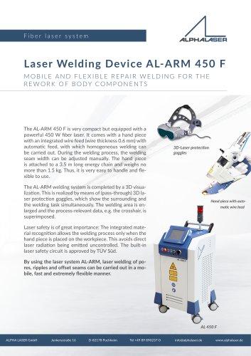 Laser Welding Device AL-ARM 450 F