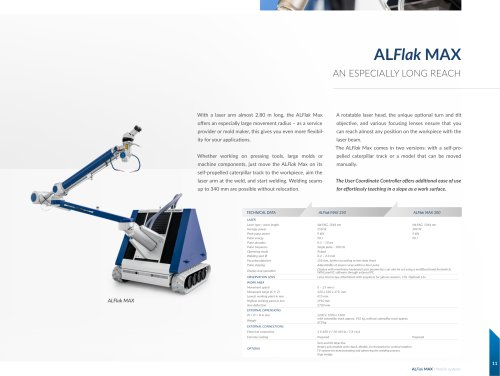 Welding Laser ALFlak Max