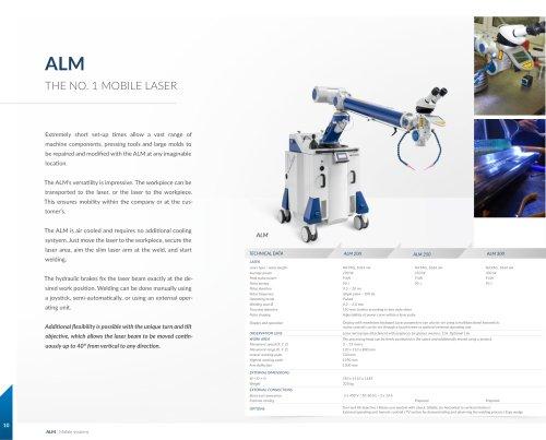 Welding Laser ALM