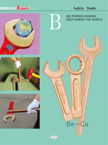 X-Spark Safety Tools Category B widely used in oil and gas works,explosive manufactories