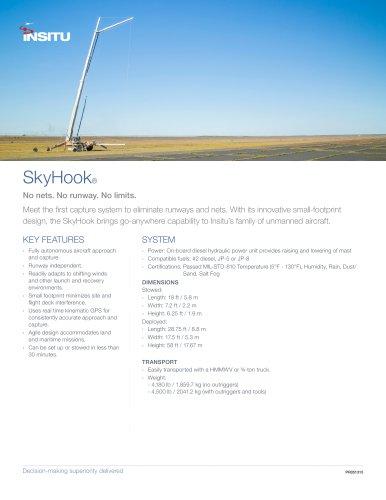 Mark 3 Skyhook, SkyHook Recovery