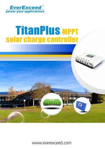 Battery charge controller 48V Titan Plus Series