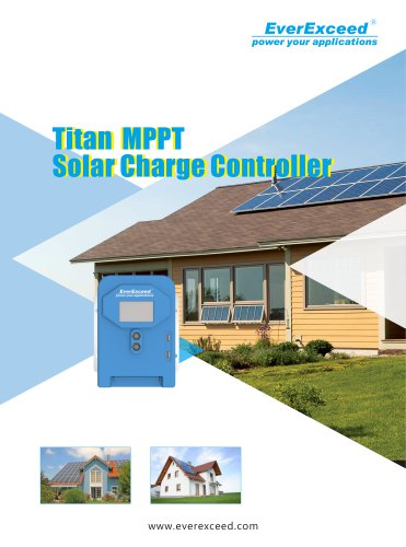 Battery charge controller Titan Series
