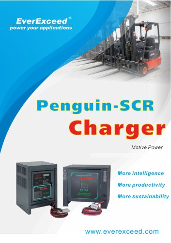 Battery charger Penguin SCR series