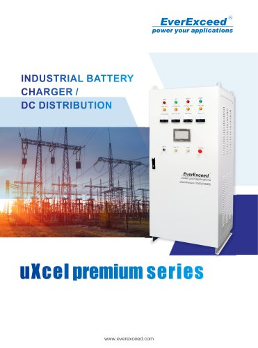 Battery charger uXcel Premium Series