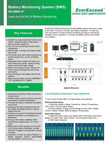 Battery monitoring module EE-BMS-E1