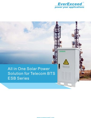 EverExceed All-in-one Solar BTS Solution