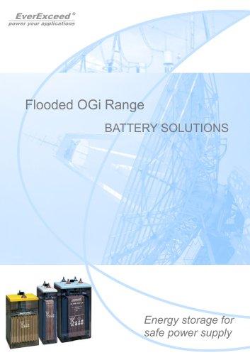 Lead-acid battery OGi Flooded series
