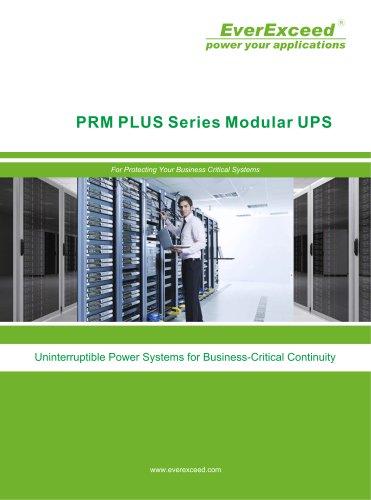 Modular UPS 20-300KVA PRM Plus series