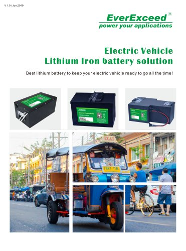 motive battery LEV series