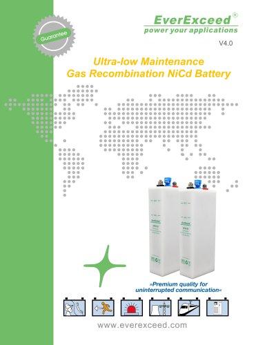 Ni-Cd battery SPM series