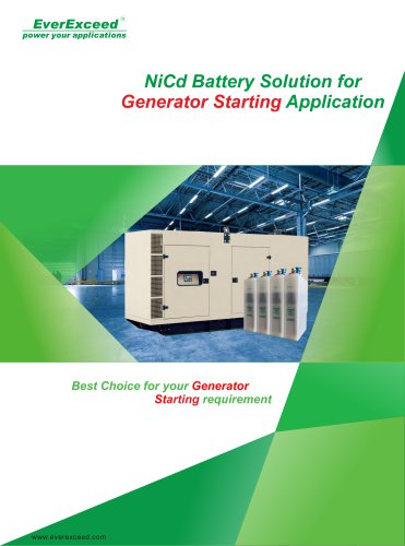 Ni-Cd battery XHP series