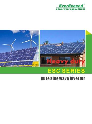 Off-grid DC/AC inverter ESC series