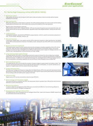 Single phase UPS 6-10KVA PowerLead1 series