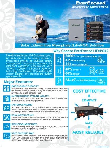 Solar Batteries 48V series