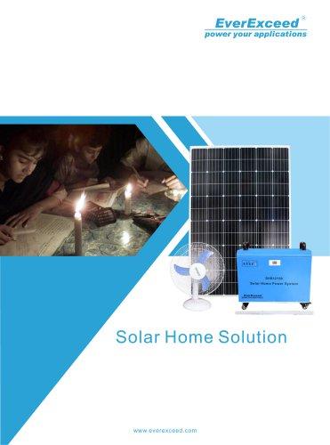 Solar home system SHS-DC series