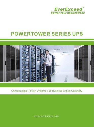 Standalone UPS 20-60kVA Power Tower series