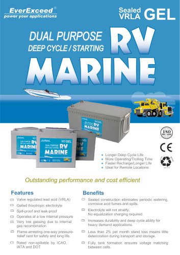 VRLA battery 8G series
