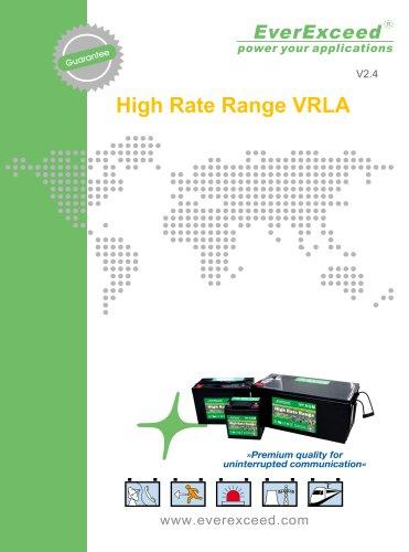 VRLA battery HR series