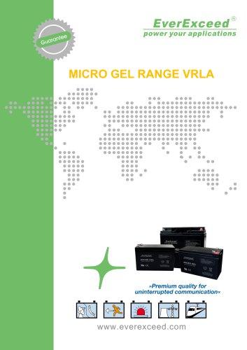 VRLA battery MG series