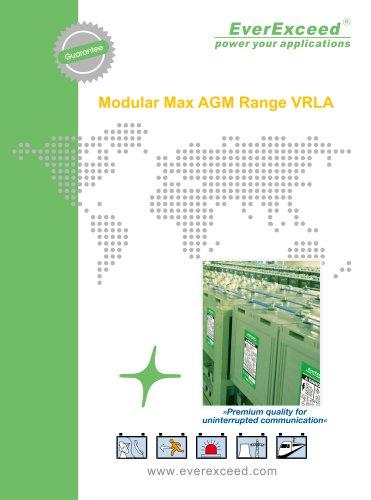 VRLA battery MR 2 Max series