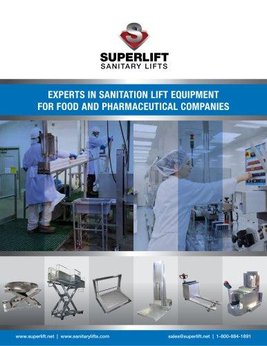2017-18 Sanitary Lift Equipment Catalog