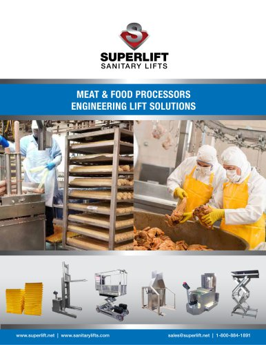 MEAT & FOOD PROCESSORS ENGINEERING LIFT SOLUTIONS