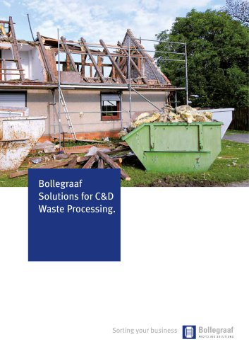 Construction & demolition waste solutions