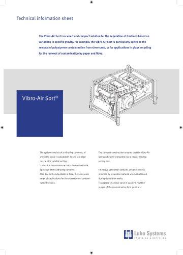 Lubo Vibro-Air Sort