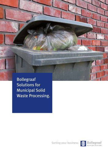Municipal solid waste solutions
