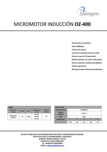 MICROMOTOR OZ 400