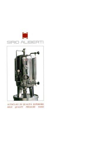 High quality pressure tanks