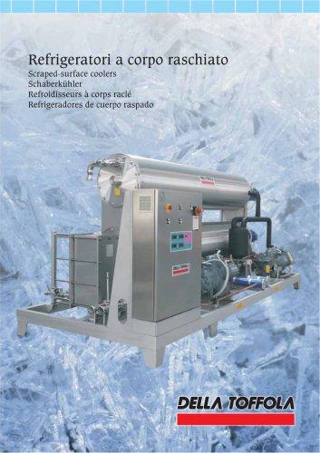 Refrigeradores de cuerpo raspado