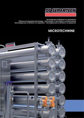 Tecnologias para la filtración y la separación MTW