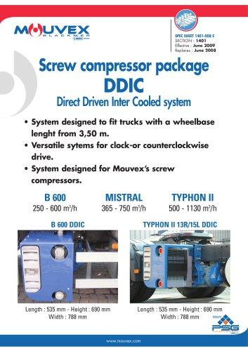 DDIC Screw Compressor