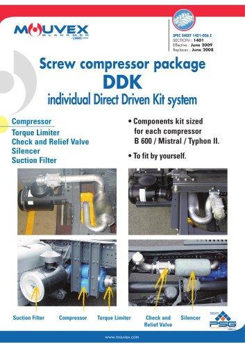 DDK Screw Compressor