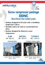 DDNC Screw Compressor