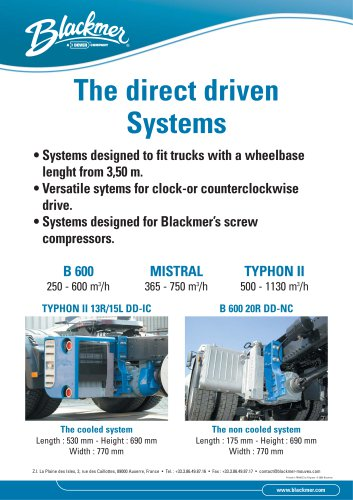 Direct Driven Systems