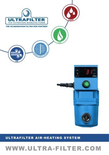 ULTRAFILTER AIR-HEATING SYSTEM
