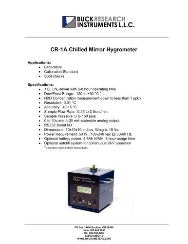 CR-1A CRYOGENIC HYGROMETER