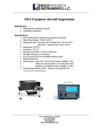 CR-2 AIRCRAFT HYGROMETER