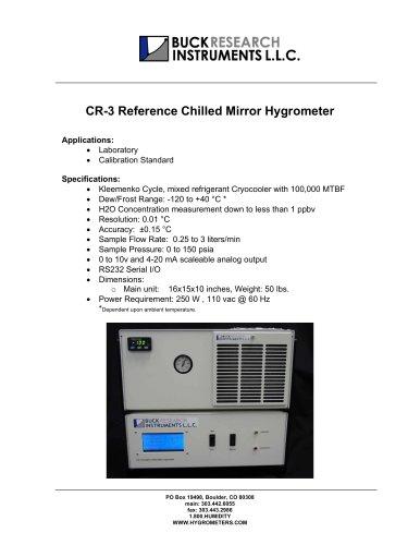 CR-3 CRYOGENIC HYGROMETER